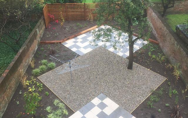 49 Banbury road landscaping - After