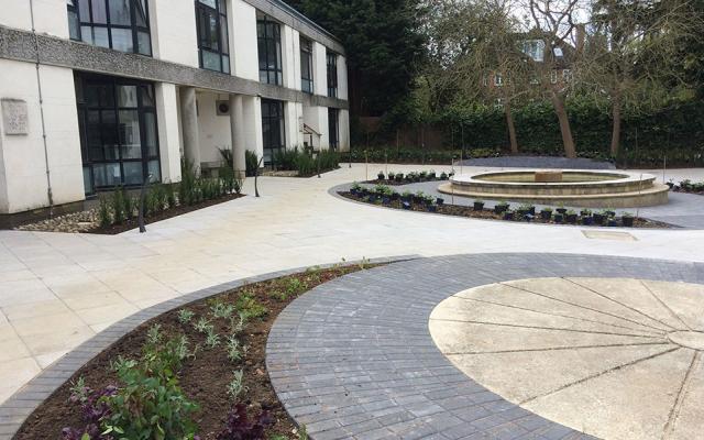 Wolfson College gardens - After