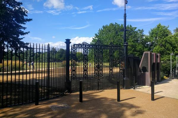 Keble Gate
